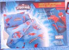 Marvel Comics Kids Spider-Man 3 pcs Bed Sheet Set Pillow Case Comforter cover