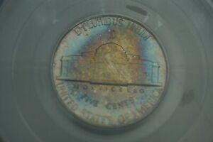 Rainbow Toned -- 1943-D 5c PCGS MS65FS Jefferson Nickel War Silver #RT15