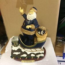 St Louis  Rams Roof Top Santa  Figurine The Memory Co New #26/3000 Collectible