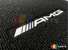 NEW GENUINE MERCEDES BENZ MB E W212 CLS W218 AMG BLACK VELOUR CARPET MAT SET RHD