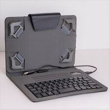 """Android Tablet Bluetooth Keyboard and Case 6""""-8"""" USED"""
