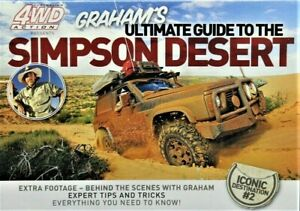 AUSTRALIAN 4WD ACTION Ultimate Guide To The SIMPSON DESERT DVD Icon Des.2 NEW R0