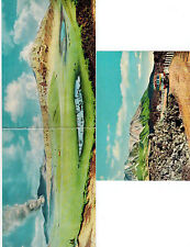 JAPAN Mt. Aso Nat Park VOLCANO 1940s LOT 10 Postcards + 3 Double Panoramic + Map