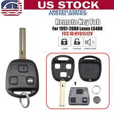 Fits 1998 1999 2000 2001 2002 2003 Lexus ES300 Remote Case HYQ1512V HYQ12BBT 2x