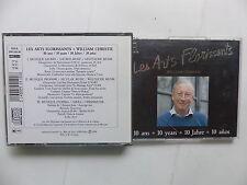 CD Les arts florissants WILLIAM CHRISTIE 10 ans 10 years  HMA 1901316.18