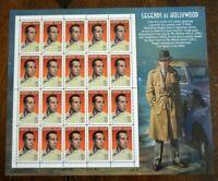 CatalinaStamps: US Stamps #3152 MNH Sheet, Humphrey Bogart, Lot #B7