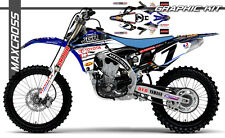YAMAHA YZ450F 2010 2011 2012 2013 MAXCROSS GRAPHICS KIT DECALS STICKERS FULL KIT