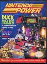 1989 Nintendo Power Magazine #8 NES Duck Tale Super Mario Inside Out High Grade