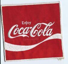 Coca-Cola Driver patch Jacket size 6 X 5-5/8
