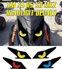 SKI DOO  XS XM XR RS MX Z TNT SUMMIT GSX RENEGADE HEADLIGHT DECAL STICKER MXZ 2