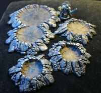 Warhammer Terrain Craters different sizes and double crater(set of 4)