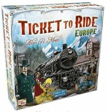 Ticket To Ride Europe Board Game - Free Shipping