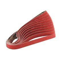 """2"""" x 72"""" Knife Maker Ceramic Sanding Belt Kit 36, 40, 60, 80, 120 grit - 10 PACK"""