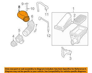 GM OEM Air Cleaner Intake-Duct Tube Hose Adapter 25147235