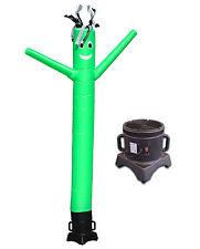 Air Dancer and Blower Complete Set 10ft Color Sky Dancer Tube Man Set GREEN