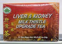 Liver & Kidney Milk Thistle Upgrade Tea 12 tea bags