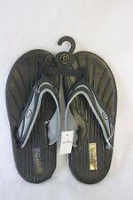 Sandals STAR Bay Sandals Black & Silver Rubber NEW SZ 9