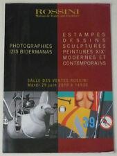 PHOTOGRAPHIES IZIS BIDERMANAS 2010 Estampes Sculptures peintures XIXe catalogue