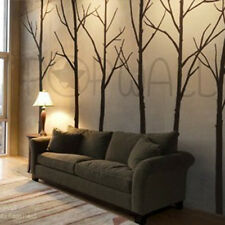 Art Wall Sticker Modern Bare Winter Trees Wall Decal for Home and Office