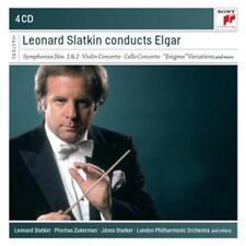 Slatkin,Leonard - Leonard Slatkin conducts Elgar /4