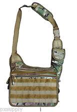 tactical messenger bag multicam camo molle cordura nylon fox tactical 51-339