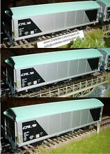 MÄRKLIN 44563_003 Set 3 Covered Goods Wagon Sliding Wall Hbis CFL Special series