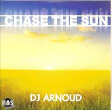 DJ ARNOUD - chase the sun CD SINGLE eurodance 2010 RARE