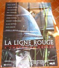 LA LIGNE ROUGE (AFFICHE CINEMA 120x160) Sean PENN - Adrien BRODY