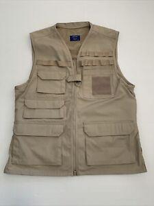 Propper Tactical Vest Mens Combat Ripstop Hunting Work Army Cargo Patrol Khaki