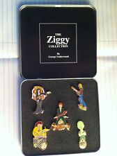 DAVID BOWIE - ZIGGY LADY STARDUST SPIDERS 5 PIECE ENAMEL PIN BADGE SET - NEW