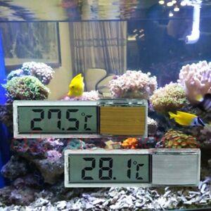 Aquarium Thermometer Tank Fish Digital Lcd Temperature Water Glass Stick Marine