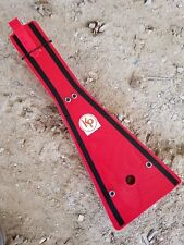 Kased Plates '88-'06 YAMAHA BLASTER 3MM RED Lifetime Warranty Frame Skid Plate