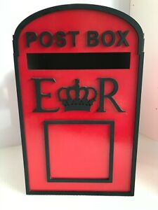 Red and Black Post Box