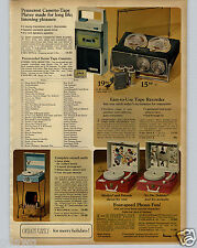 1968 PAPER AD Toy Record Player Phonograph Dr Doolittle Phono Viewer Fairy Tales