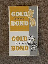 Gold Bond Stamps Full Book   !950s Memorabilia