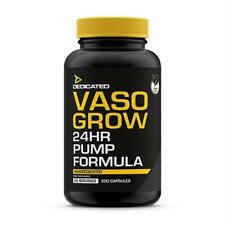 Dedicated Nutrition Vaso Grow 200 Kapseln Muskelaufbau Pump Anabol