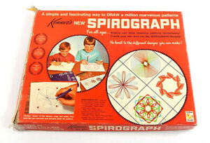 Vintage 1967 Kenner Spirograph No. 401 Drawing Art Toy In Original Box
