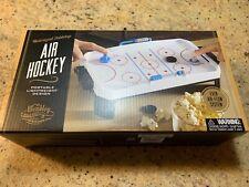 NEW Motorized Tabletop Mini Air Hockey Game