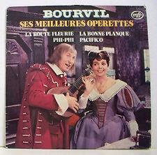 """33T BOURVIL Operettes LP 12"""" LA ROUTE FLEURIE - LA BONNE PLANQUE - MFP 13182"""