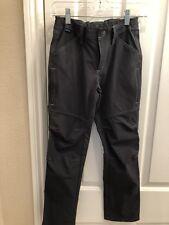 Kid's KUHL Gray Cargo Pants Adjustable Waist Medium 10/12 Camping/Hiking ($59)