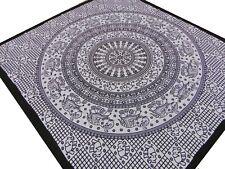 Éléphants Couvre-lit ethnique Batik Tenture Coton Inde Hippie Nepal Boho N2