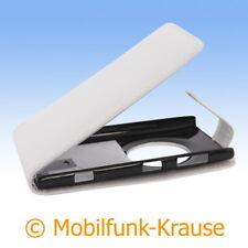 Flip Case Etui Handytasche Tasche Hülle f. Nokia Lumia 1020 (Weiß)