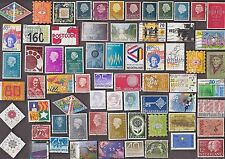 200 Only some of the stamps are shown as there ALL DIFFERENT  NETHERLANDS STAMPS