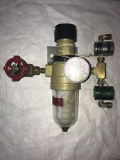 CA Norgren Pressure Gauge Regulator with Pneumatic Filter