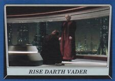 2016 Topps Star Wars Rogue One: Mission Briefing, Rise Darth Vader, (Blue)