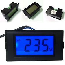Digital Voltmeter AC80-500V LCD Display Voltage Power Volt Digital Panel Ammeter