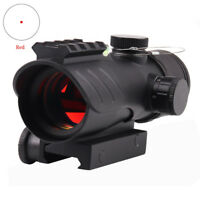 1X30 Tactical Reflex Red Dot Sight Scope Riflescope Optic Bubble Level
