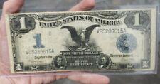 1899 $1 Large Size Silver Certificate Blue Seal Black Eagle