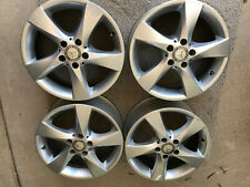 Set Of Four Used Oem 17 Mercedes Benz Metris Alloy Silver Aluminum Wheels