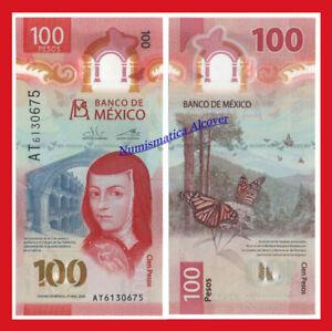 MEJICO MEXICO 100 Pesos 2019 (2020) Sor Juana Polymer Pick NEW  SC / UNC